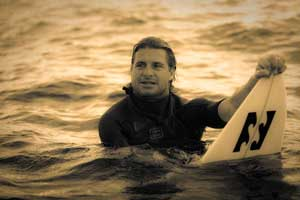 mark occhilupo in the surf