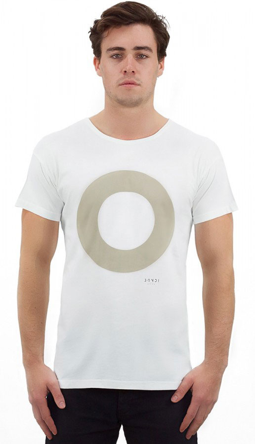 men's target white from bondiwear